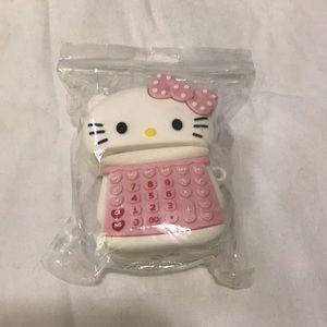 EarPods hello kitty case NWOT